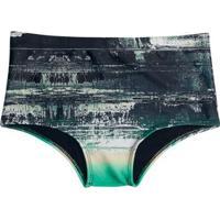 Sunga Estampada Colcci - Masculino-Verde Escuro