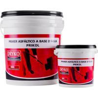 Primer Asfáltico Dryko, Prikol, Preto, 18 Litros