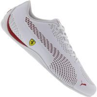 376253ca33 Tênis Puma Scuderia Ferrari Drift Cat 5 Ultra Ii - Masculino -  Branco/Vermelho