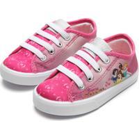 Tênis Disney Menina Soft Princess Dream Rosa