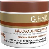 Máscara De Tratamento G.Hair Anabolizante - 500G - Unissex-Incolor
