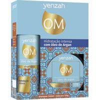 Yenzah Om Kit Hidratação Intensiva Com Óleo De Argan