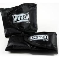 Par Caneleira Tornozeleira Punch 3 Kg - Unissex
