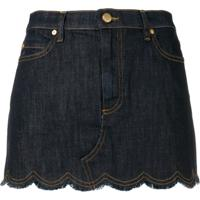 Red Valentino Minissaia Jeans - Azul