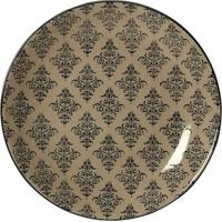 Prato De Parede Decorativo De Porcelana Mahdia
