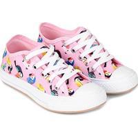 Tênis Infantil Shoestock Estampado Feminino - Feminino