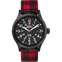 ... Relógio Timex-Tw4B02000Ww - Masculino-Vermelho a18bfdb7d4