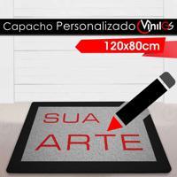 Tapete Capacho Personalizado Vinil-Gs - 120X80Cm