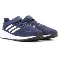 Tênis Infantil Adidas Runfalcon C - Unissex-Azul+Preto