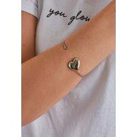 Bracelete Prateado Diamond