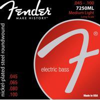 Encordoamento Para Contrabaixo Fender 7250Ml 0.45 4 Cordas Aço