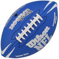 Bola De Futebol Americano Wilson Nfl Jr Wtf1796X0-Az, Cor: Azul, Tamanho: U