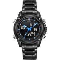 Relógio Naviforce Nf9050 - Preto E Azul