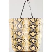 Shopping Bag Snake Double Face Cod Disponivel - U