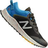 Tênis New Balance Arishi Trail - Masculino - Preto/Azul