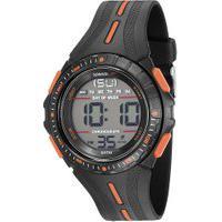 Kit De Relógio Digital Speedo Masculino + Carregador Portátil - 81162G0Evnp1K1 Preto