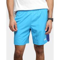 Bermuda Adidas Sp3 Listra Masculina - Masculino-Azul+Branco
