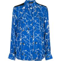 Rag & Bone Blusa Therese Com Estampa Floral - Azul