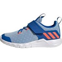 Tênis Rapidaflex Adidas - Unissex-Azul+Laranja