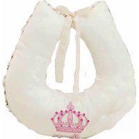 Almofada Para Amamentação 1 Peça Imperial Rosa E Palha I9 Baby