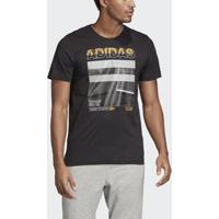 Camiseta Mh Photo M Adidas - Masculino-Preto