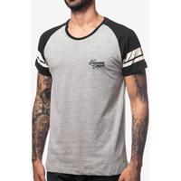 Camiseta Raglan Listras 103989
