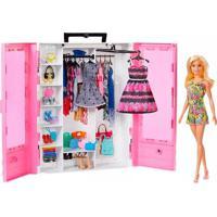 Boneca Barbie Fashionista Closet De Luxo