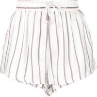 Onia Shorts Estampado - Arrowhead Stripe