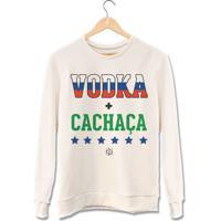 Moletom Vodka + Cachaça • Prccla