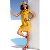 Vestido De Linho Amarelo
