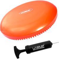 Disco De Equilibrio Inflavel Balance Cushion Disc + Mini Bomba De Inflar Liveup - Unissex