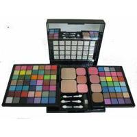 Kit De Sombras Maquiagem Maleta Profissional 77 Cores