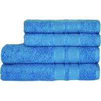 Toalha Camesa Remix Rosto Azul