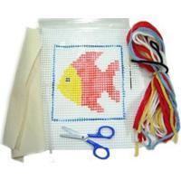 Kit P/ Bordar Peso De Porta Kits For Kids Peixe Multicolorido