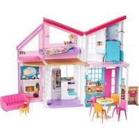 Boneca Barbie Casa De Malibu Com Acessórios - Feminino-Colorido