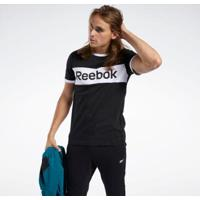 Camiseta Reebok Training Essentials Linear Logo - Masculino