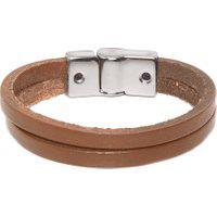 Bracelete Masculino Huerta Onix - Marrom