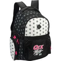 Mochila Notebook Qix Qsta94102 Preta