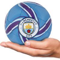 Minibola De Futebol De Campo Manchester City Future Flare Puma - Azul/Roxo
