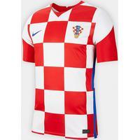 Camisa Seleção Croácia Home 20/21 S/N° Torcedor Nike Masculina - Masculino