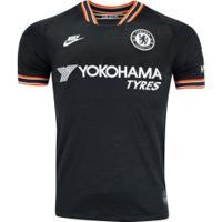 Camisa Chelsea Iii 19/20 Nike - Masculina - Preto