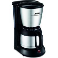 Cafeteira Arno Gran Perfectta Thermo 220V Preta Inox Com Jarra Térmic