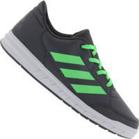 Tênis Adidas Altasport K - Infantil - Cinza Esc/Verde Cla
