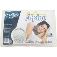 Travesseiro Duoflex Espuma Alpino Branco