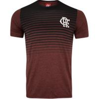 Camiseta Do Flamengo Scream 19 - Masculina - Vinho/Preto