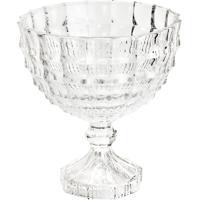 Saladeira De Cristal Com Pé 23X25Cm Mauricius Wolff