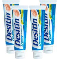 Kit Com 4 Cremes Preventivo De Assaduras Desitin Creamy 113G - Tricae