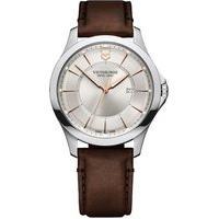 Relógio Victorinox Swiss Army Unissex Couro Marrom - 241907