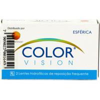 Lente De Contato Color Vision Mensal Sem Grau Lavanda Plano