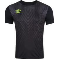 Camisa Umbro Twr Graphic Pro Velocita - Masculina - Preto